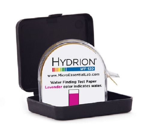 Hydrion Water Finder Test Paper