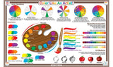 Color Like An Artist Activity Placemat by Tot Talk