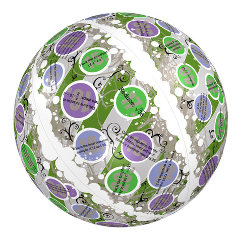 Clever Catch Ball:  Pre-Algebra 2 Math Activity Toy