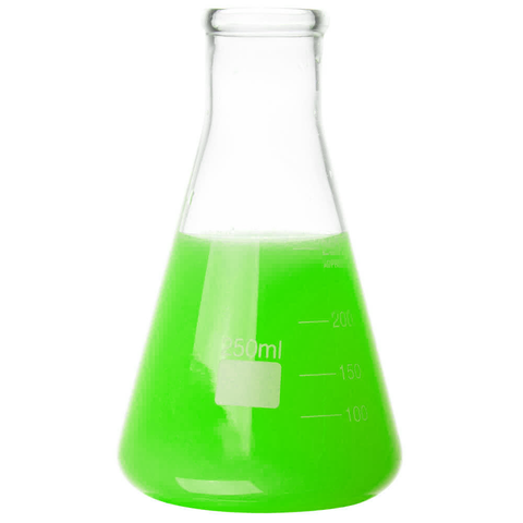 Glass Erlenmeyer Flask: 250ml, Set of 6