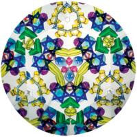 9 inch Classic Kaleidoscope Toy Judaic Star of David