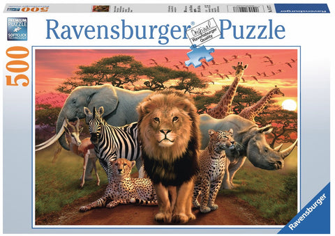 Wild Animals: African Splendor Jigsaw Puzzle - by Ravensburger
