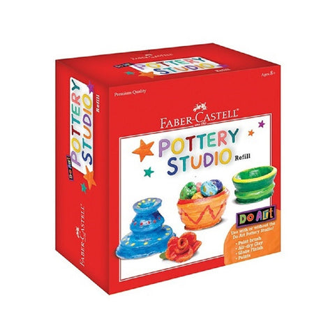 Creativity for Kids - Do Art Pottery Studio Refill - By Faber-Castell