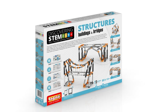 Engino Discovering STEM Structures Buildings & Bridges Kit