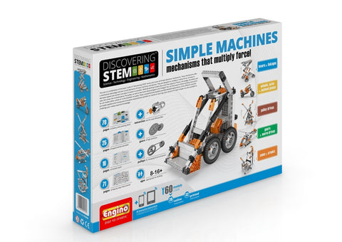 Engino Discovering STEM Simple Machines: Mechanisms That Multiply Force Building Kit