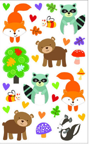 Mrs Grossman's Stickers - Giant Forest Pals