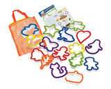 16 Piece Cookie Cutter Collection, by Curious Chef