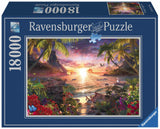 Paradise Sunset 18000 Piece Adult Jigsaw Puzzle, by Ravensburger