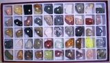 50 Pc Superior Rocks and Minerals Stone Gem Collection