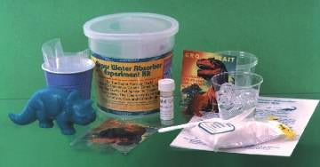 Super Water Absorber Chemistry Experiment Kit - Classroom Size