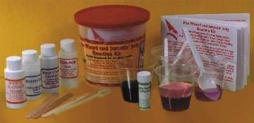 Fizz Wizard and Jammin Jelly Chemical Reaction Kit - Classroom Size