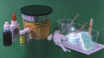 Goofy Glowing Gel Chemistry Experiment Kit - Classroom Size