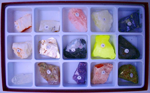 Luster Collection Rocks Minerals Metallic