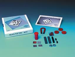 Magnet Kit Set 17 Experiments and Activities with Accessories & Compass