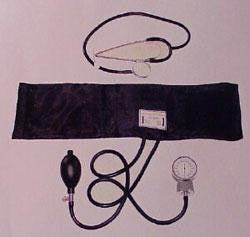 Student Blood Pressure Kit - Includes Stethoscope, Sphygmomanometer & Cuff