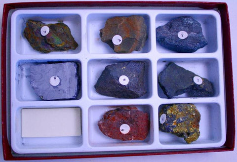 Streak Collection Rock Mineral