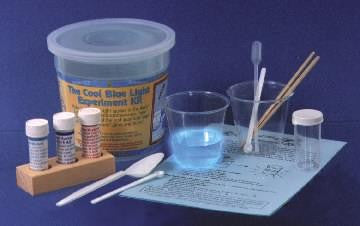 Cool Blue Light Chemistry Experiment Kit - Individual Size