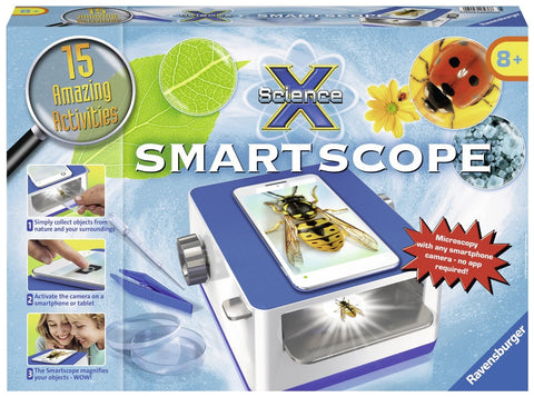 Science X Smartscope Microscope Kit, by Ravensburger