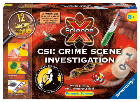 Science X - CSI: Crime Scene Investigation - Forensic Science Activities Kit