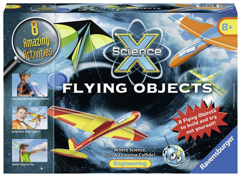 Science X Flying Objects Aerodynamics Kit, by Ravensburger