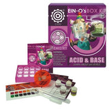 EIN-O's Acid and Base Box Kit Essential Chemistry Ph Levels