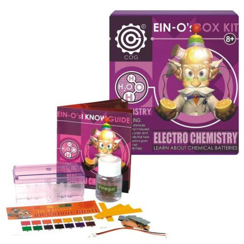 EIN-Os Electro Essential Chemistry Box Kit Electricity