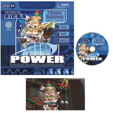Ein-o I Know Science DVD Air Power Kit