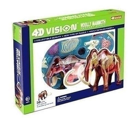 4D Vision Woolly Mammoth 3D Puzzle Anatomy Model