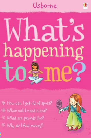 Usborne What's Happening to Me? Book Girls