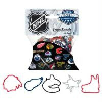 Western Conference NHL Hockey Logo Rubber Bandz 20/pk