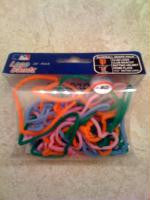 SF Giants MLB licensed Logo Bandz Rubber Band Bracelets 20pk