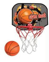 BasketBall Hoop Set: Ball, Hoop,Backboard: SLAMDUNK