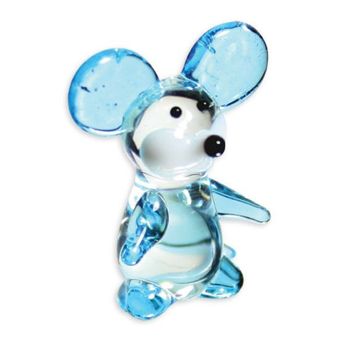 Looking Glass Torch Figurine - Squeak the Mouse