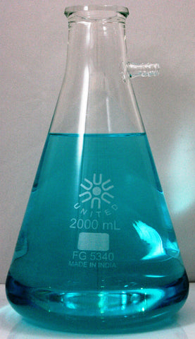 2000mL Glass Filtering Flask, by United Scientific