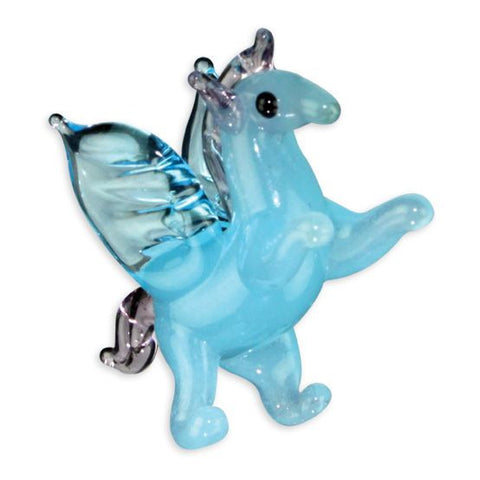 Looking Glass Torch Figurine - Peggy the Pegasus