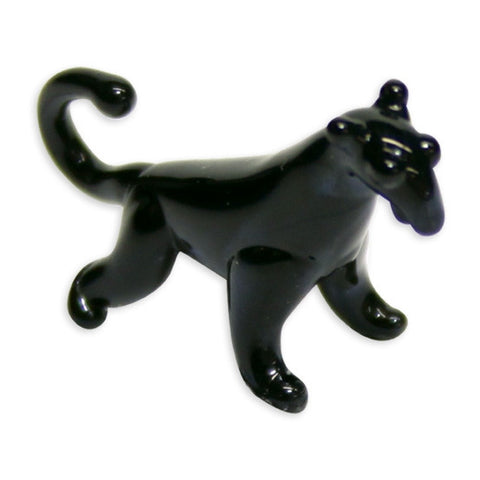 Looking Glass Torch Figurine-Blackie the Panther-Ltd Ed