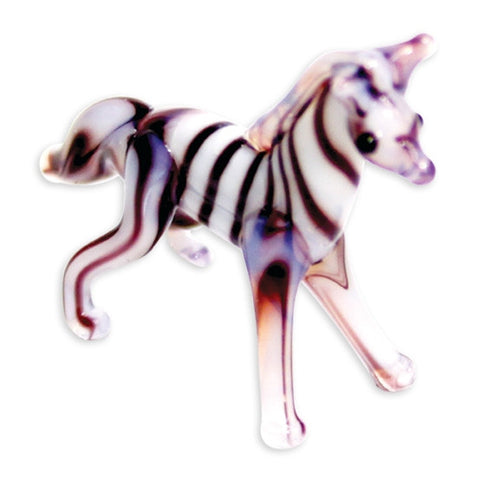Looking Glass Torch Figurine - Ziggy the Zebra