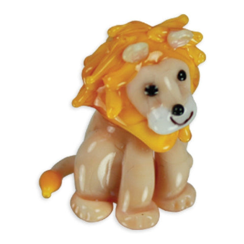 Looking Glass Torch Figurine - Linus the Lion
