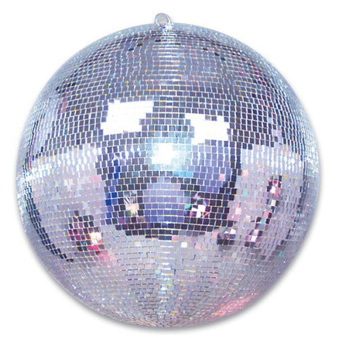 Huge Disco Mirror Ball-20 Inch Hundreds of Glass Mirror Pieces-Deluxe Party Decoration