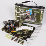 Be Amazing! Build - A - Fort Green Camo Indoor Tent Building Kit