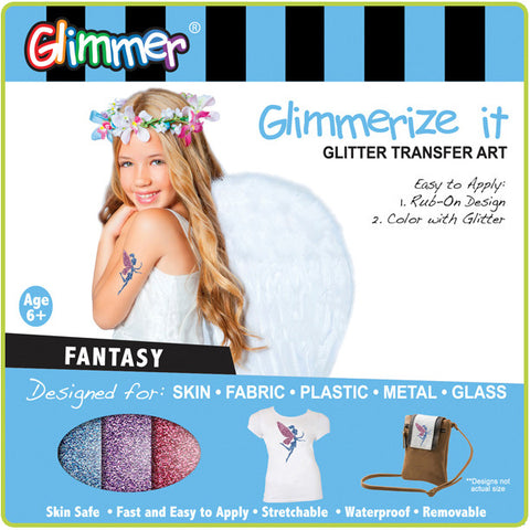 Glimmerize It - Glitter Transfer Art - FANTASY