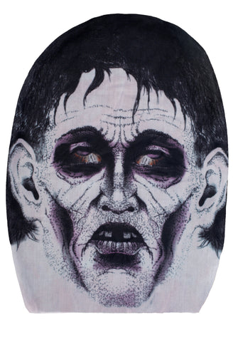 Zombie Monster Mask One Size Fits All - Halloween Costume