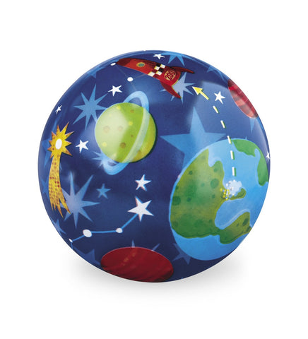 Solar System Plastic Playball Blue - 6 Inch Indoor Outdoor Ball