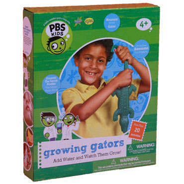 Be Amazing Toys Growing Gators Science Experiment Kit - A PBS Kids Toy