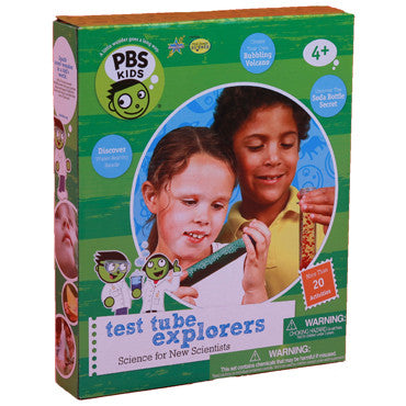 Be Amazing Toys Test Tube Explorers Science Experiment Kit - A PBS Kids Toy