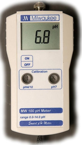 MW100 Economy Portable pH Meter by Milwaukee