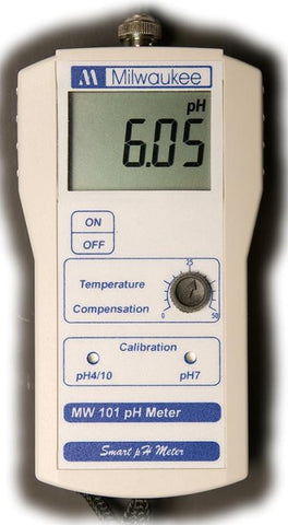 MW101 Economy portable pH Meter 0.00-14.00 pH