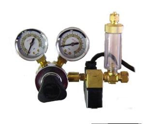CO2 Adjustable Flow Pressure Regulator