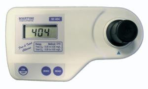 Mi406 Free Chlorine Meter 0.00 to 5.00 mg/L by Milwaukee