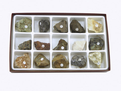 Ores of Common Metals Rock Mineral Collection
